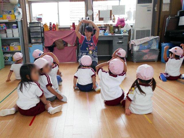 幼稚園は小さな社会です
